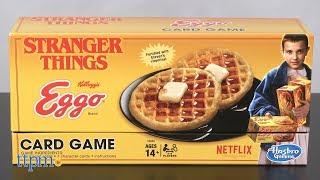 Stranger Things Eggo Card Game from Hasbro