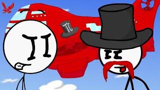 Infiltrating the Airship Stickman Gameplay - Henry Stickman infiltrates the Airship