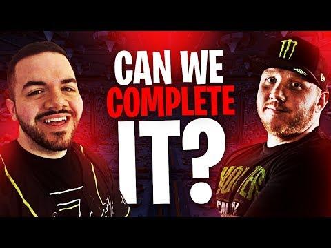 CIZZORZ $5000 DEATH RUN 2.0 W/ COURAGE!!   Fortnite Battle Royale Highlights #236