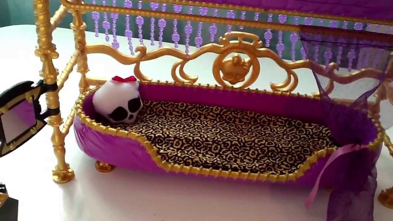 Monster High Clawdeen Wolf Bunk Bed Review