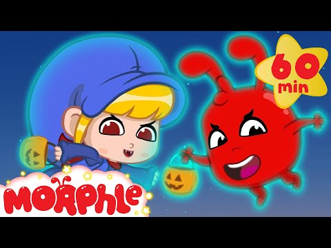 Halloween! Morphle and Mila turned into Ghosts! Scary but Cute Halloween Videos For Kids MP3