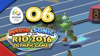 Mario and Sonic at the Rio 2016 Olympic Games for Wii U: Part 06 - Triple Jump (4-Player)