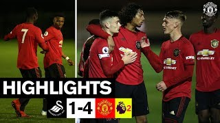 U23 Highlights | Swansea 1-4 Manchester United | The Academy