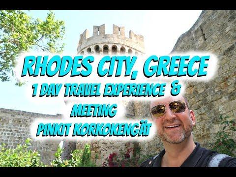 Rhodes City Greece  | 1 Day Travel Experience & Meeting Pinkit Korkokengät
