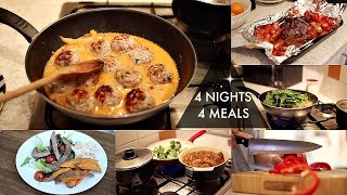 4 Meals 4 Nights | Hello Fresh | Natasha Summar AD