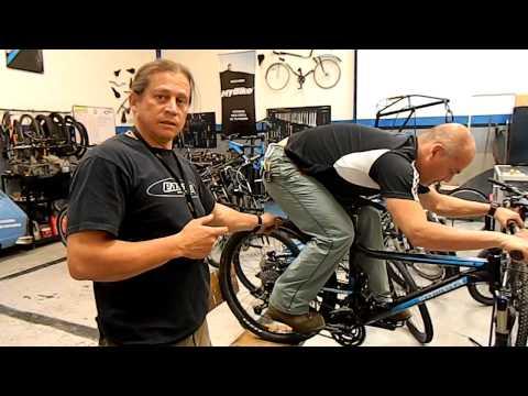 Postura y técnica en descensos MTB (ciclomontañismo)