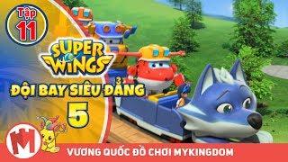 ĐỘI BAY SIÊU ĐẲNG - Phần 5 | Tập 11 : Tàu lượn siêu tốc - Phim hoạt hình Super Wings