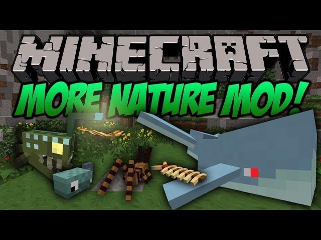 ►Minecraft Módy◄ More Nature Mod | Více zvířat do minecraftu
