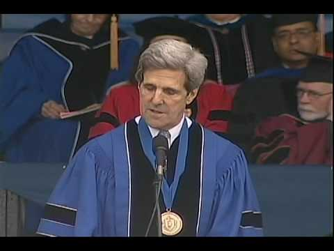 John Kerry's 2009 Commencement Address