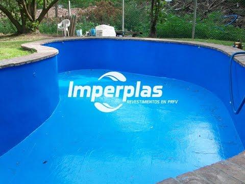 Imperplas argentina plastificado de piscinas reparacion for Reparacion piscinas