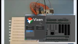 CONTROLLINO Light Control with VIXEN 3