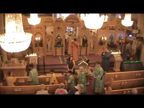 Hierarchical Divine Liturgy - St. Nicholas Russian Orthodox Church - Wilkes-Barre, PA
