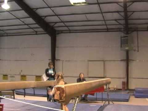 Sloan does gymnastics.wmv
