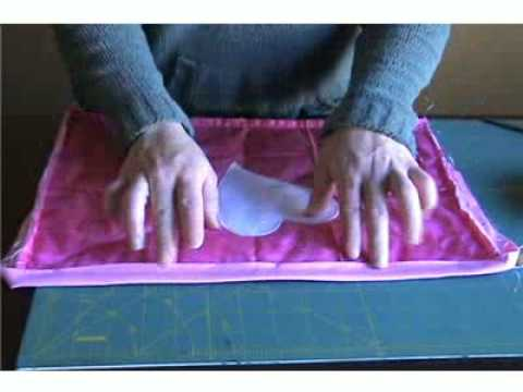 How To Sew Binding With Mitered Corners