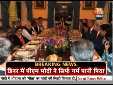 In pics: Barack Obama hosts dinner for PM Narendra Modi
