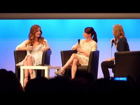 Rebecca Mader & Emilie de Ravin - Their favorite lines  FairyTales...
