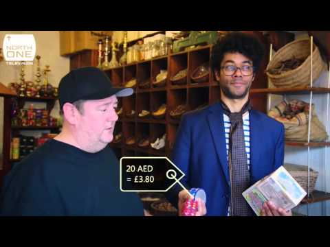 Richard Ayoade & Johnny Vegas haggle in Dubai - Travel Man S02E07