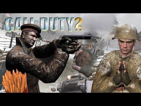 [Вырезанный контент Call of Duty 2] Советская кампания ч.2