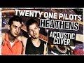 Twenty One Pilots Heathens Acoustic Cover Музыкант вещает mp3