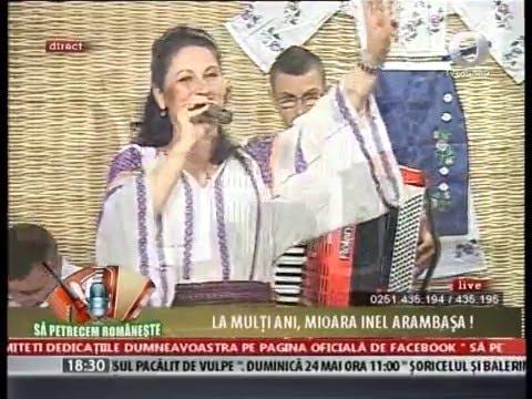 Mioara Inel Arambasa - Sa petrecem romaneste - LIVE 2015