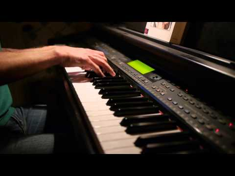 Joe Hisaishi - The Girl Who Fell from the Sky (Piano cover)