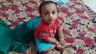 Funny Baby talking on his own - Vibhav N