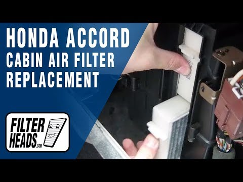 Cabin air filter replacement- Honda Accord