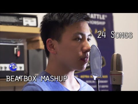 24 Songs Beatbox Challenges 1 Take Finish ( Beatbox 歐美歌曲串燒) By Heartgrey video