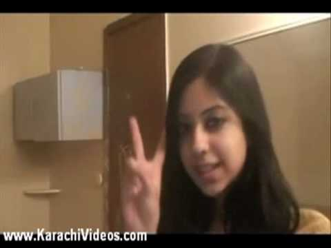 Karachi Girl Is Singing The Song On Webcam