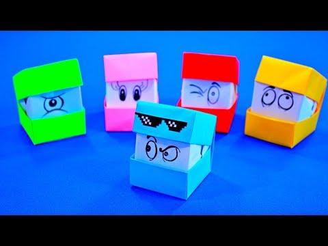 Как на сделать лицо кубиками