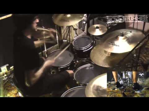 Chimp Spanner -  Boris Le Gal - Dark Age of Technology - Drum play through