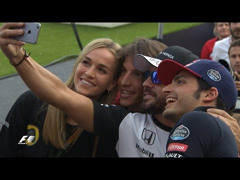 Fernando Alonso and co meet the fans in Barcelona - Spanish Grand Prix
