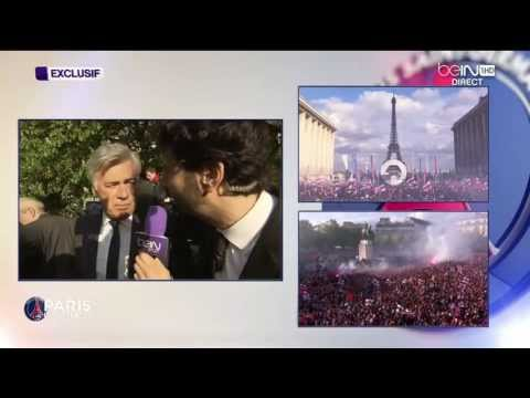 Sacre du Paris Saint-Germain FC - PSG Champion de France 2013 - Trocadéro