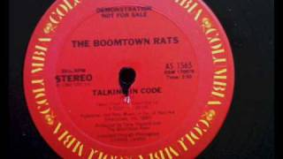 Watch Boomtown Rats Talking In Code video