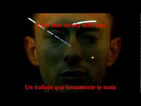 RADIOHEAD - NO SURPRISES/SUBTITULADO (INGLES/ESPAOL)