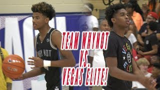 2019 Peach Jam: Jalen Green and Team WhyNot vs. Josh Christopher and Vegas Elite!