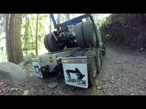 JRP RC - The Tri Drive 8X8 King Hauler Log Truck