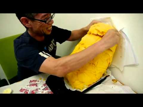 Burger King 1000 Slices of Cheese From Burger King With 1000
