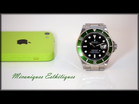 Rolex Submariner 16610 LV (2004) Green Bezel & Full Set !