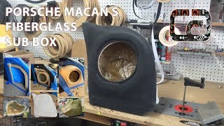 Custom Subwoofer Enclosure for a Porsche Macan S