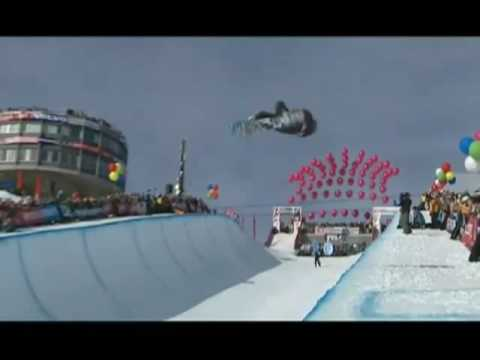 Burton European Open 2009 : Half Pipe, Finales Hommes