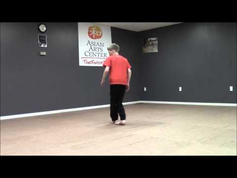 Tornado Kick Tutorial from Martial Arts Athlete Reese Wilson Hyper Pro X