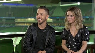 (HD) Entrevista na íntegra Fantástico 28min Nossa História Sandy & Junior