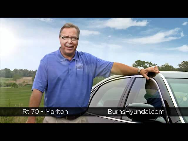 Burns Automotive commercial shoot with Ron Jaworski