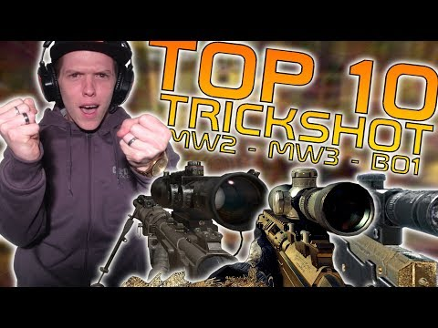☆ Top 10 Trickshot dans MW2, MW3 & BO ☆ AVEC EPIC REACTION !