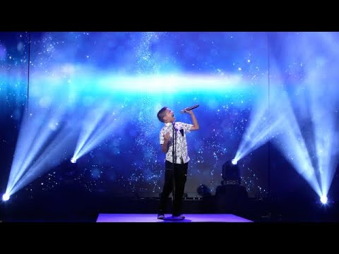 11-Year-Old Luke Chacko Performs Let It Go for Idi...