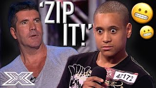 Simon Cowell CONFRONTS Contestant About His Attitude | X Factor Global