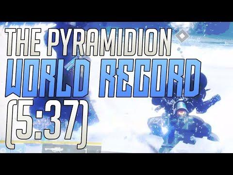 Destiny 2 - The Pyramidion Strike Speedrun World Record! (5:37 RTA)