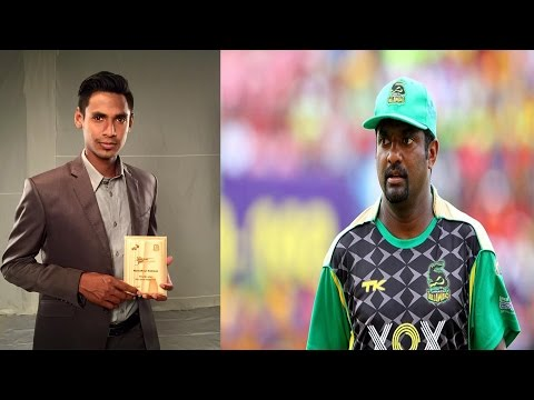 Mustafizur Rahman's future is bright says Muralitharan