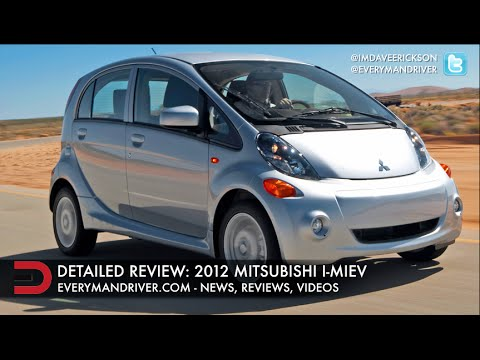 2012 Mitsubishi i Miev (Electric Vehicle) Review on Everyman Driver